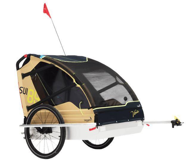Leggero Vento V89 Fahrradanhänger mit 5 Punkt Gurt System für 279€ (statt 295€)