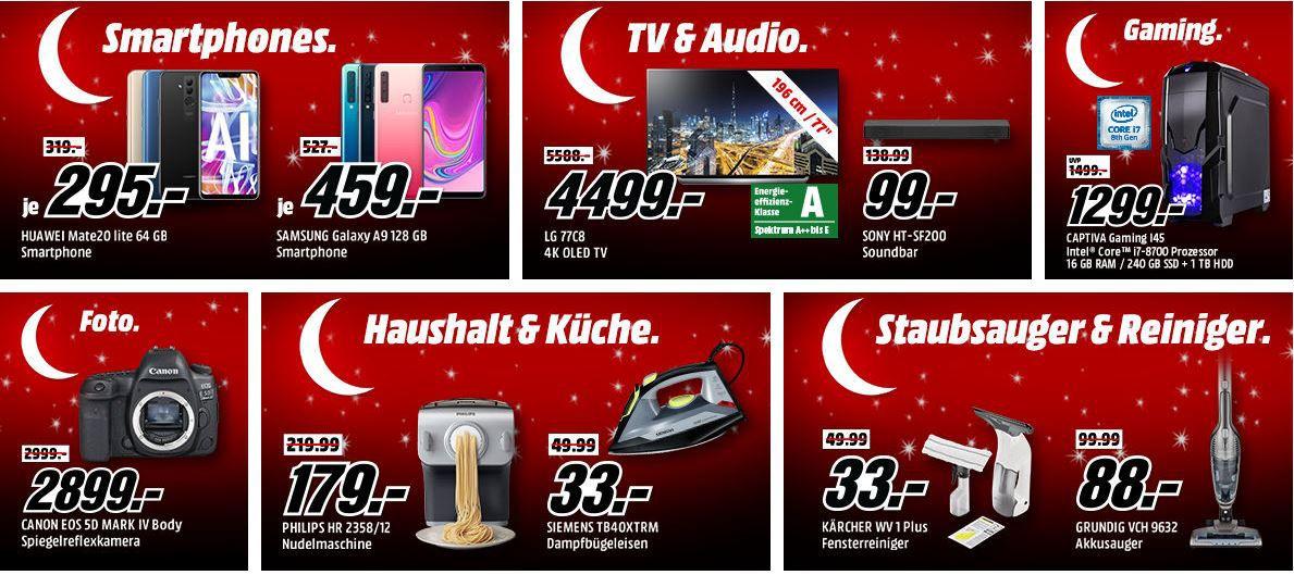 HOT?!  Media Markt: Mega Weihnachts Tiefpreisspätschicht mit sehr vielen guten Angeboten!