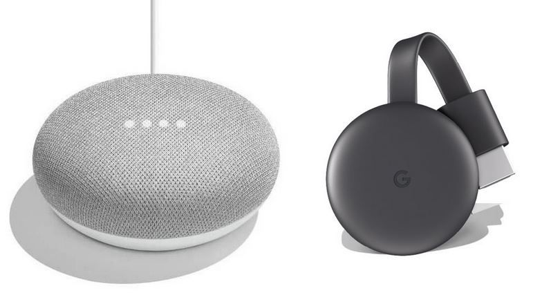 SATURN: Google Chromecast  3 + Google Home Mini für 55€ (statt 78€)