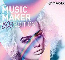 NUR HEUTE: MAGIX Music Maker – 80s Edition gratis + 2x 10€ Gutscheine