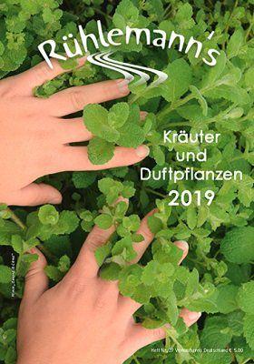Kräuter  und Duftpflanzen Katalog 2019 kostenlos downloaden