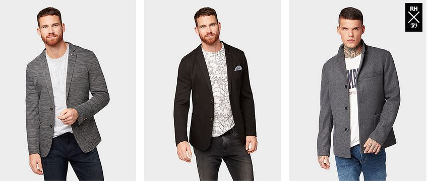 Top! Tom Tailor: heute mit 30% auf Hemden, Blousons, Blazer + Kids Outlet