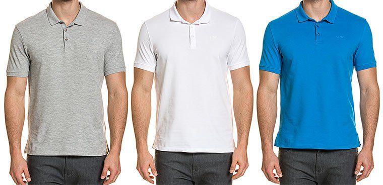 Armani Jeans Herren Poloshirt in vielen Farben für je 34,29€ (statt ~47€)