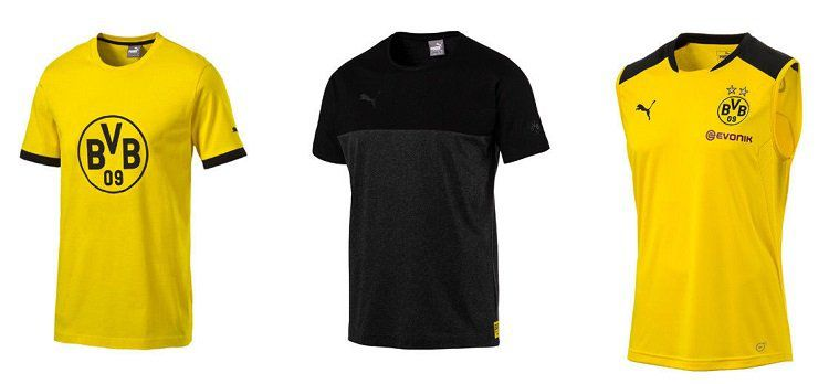 Puma BVB Borussia Trikots und Shirts für 14,99€