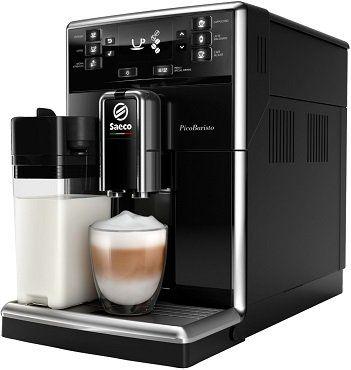 Saeco SM 5460/10 PicoBaristo   Kaffeevollautomat mit integriertem Milchbecher & Aquaclean für 476€ (statt 549€)