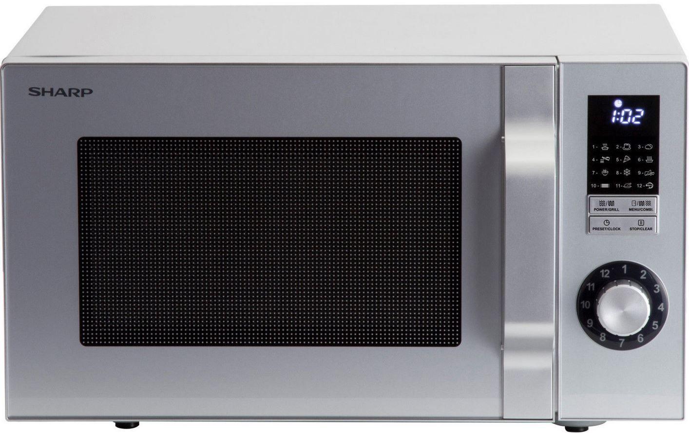 Sharp R644S   23Liter Mikrowelle mit 1.000 Watt Grill für 69,90€ (statt 100€)
