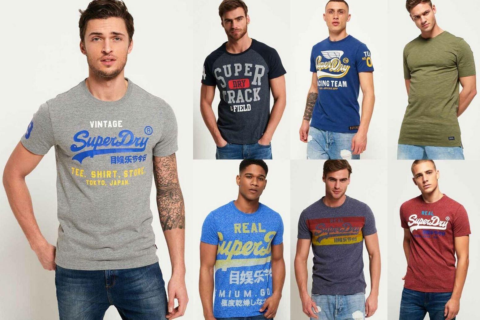 Superdry T Shirts viele Modelle XS bis 3XL je 13,95€ (statt 21€)