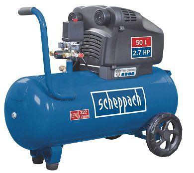 Scheppach HC54DC ölfreier Doppelzylinder Kompressor für 219,99€ (statt 268€)