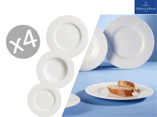 12 tlg. Villeroy & Boch Tellerset  Twist White für 58,90€