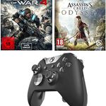 Xbox One Elite Wireless Controller + Games: Assassins Creed Odyssey + Gears of War 4 für 130,99€ (statt 165€)