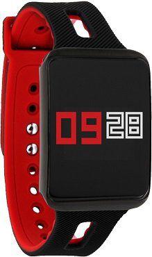 xlyne Keto XW Fit Fitness Tracker in schwarz/rot für 24€ (statt 38€)