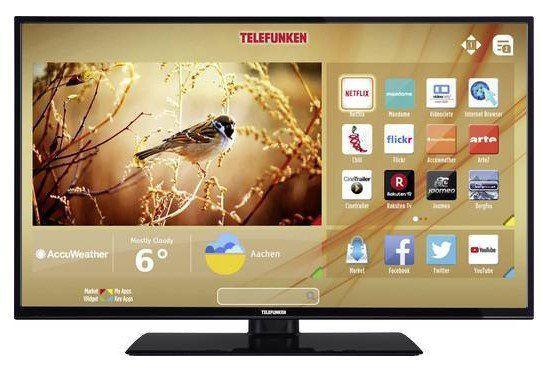 Telefunken C40U446A LED TV (40 Zoll, EEK A+, UHD, Smart TV, WLAN) für 282,45€ (statt 313€)