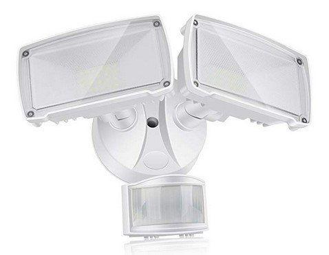 Solla   LED Doppelkopf Außenlicht mit Bewegungssensor für 35,70€ (statt 45€)