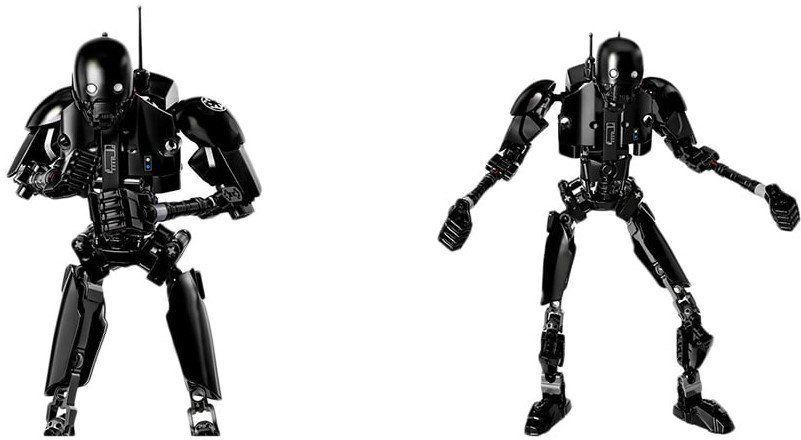 DIY beweglicher Roboter zum Aufbauen für 6,65€