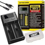 Nitecore NEW i2 – intelligentes Ladegerät für diverse Akkus für 13,99€ – Prime