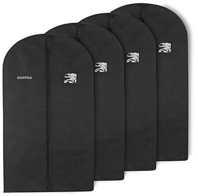 4er Pack: Kleidersäcke (100 x 60cm) für 9,79€   Prime
