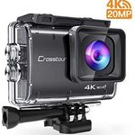 Crosstour CT9500 – 4K Wifi Action Cam mit viel Zubehör für 62,99€ (statt 90€)