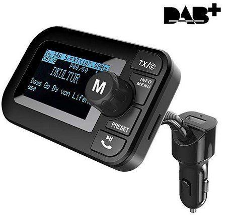 DAB 105B   DAB/DAB+ Autoradio Adapter für 32,39€ (statt 54€)