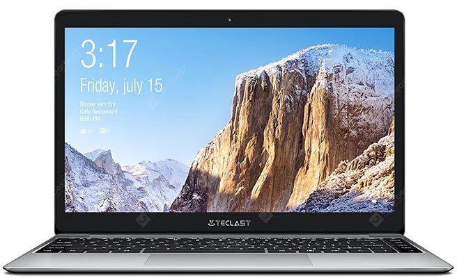 Teclast F7 Plus Notebook   mit 14 Zoll, 8GB & 128GB SSD + Maus für 292,05€