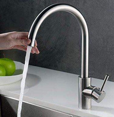 Homelody SD8024EU 360° drehbarer Wasserhahn für 23,99€ (statt 40€)