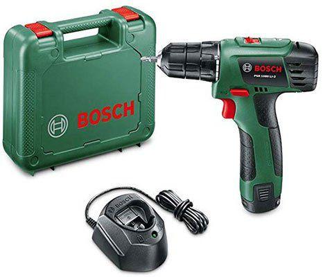 Bosch PSR 1080 LI 2 10,8 V/1,5 Ah Akkuschrauber für 89,99€ (statt 105€)