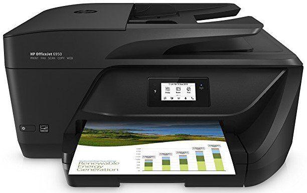 HP Multifunktionsdrucker OfficeJet 6950 mit WLan, Duplex, Instant Ink für 75€ (statt 80€)