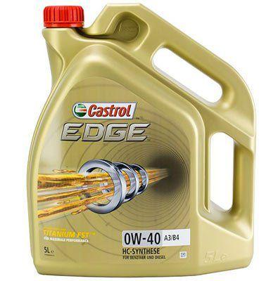 CASTROL 15337F EDGE 0W 40 A3/B4 5L für 33,99€ (statt 37€)