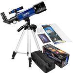 Einsteiger-Teleskop (70mm/360mm) inkl. Zubehör für 56,54€ (statt 80€)