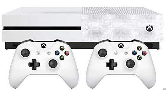 Microsoft Xbox One S 1TB + zweitem Controller für 220,09€ (statt 244€)