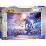 Ravensburger 16701 Star Wars Universum Puzzle mit 2000 Teile für 13€ (statt 22€)