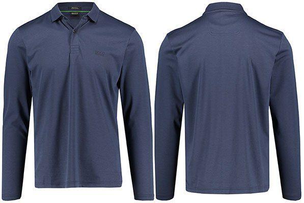 Hugo Boss Herren Langarm Poloshirt Pirol für 59,36€ (statt 70€)