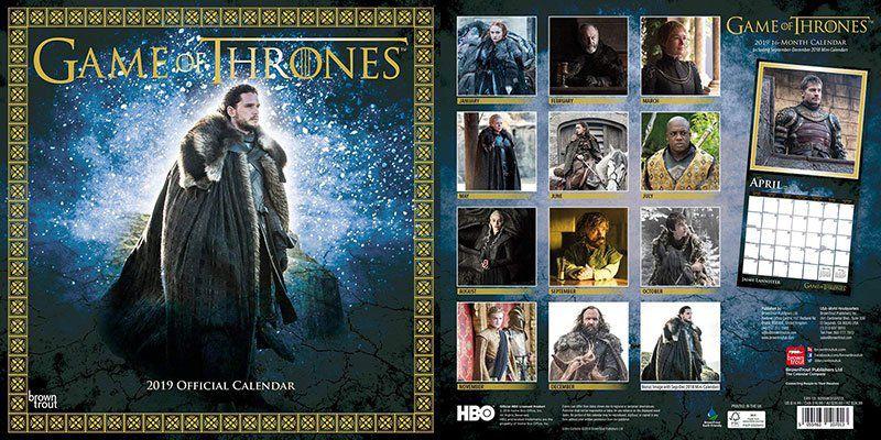 Game Of Thrones Kalender 2019 für 8€ (statt 11€)