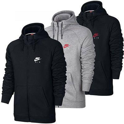 Nike Air Heritage Fleece Full Zip Hoodie für 34,95€ (statt 40€)