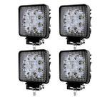 LED 27W-Arbeitsscheinwerfer z.B. 4 Stück für 15,39€ (statt 22€)