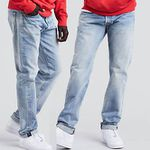 """Levis 501® Original Fit Warp Stretch Jeans """"Mowhawk Warp"""" für 40€ (statt 64€)"""
