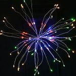 """LED-Lichterkette mit 150 LEDs im """"Feuerwerk-Style"""" für 11,20€"""