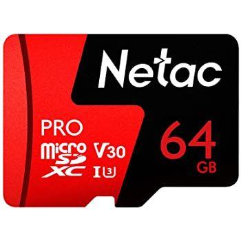 Netac Pro 64GB MicroSD Speicherkarte für 11,89€   Prime