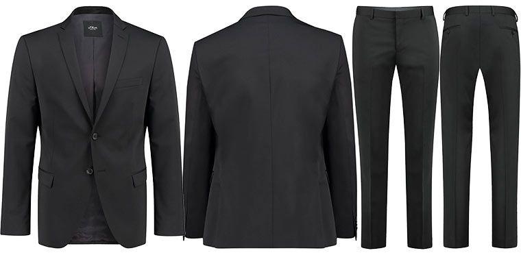 Viele Restgrößen! s.Oliver Anzug Cosimo Flex für 84,91€ (statt 180€)
