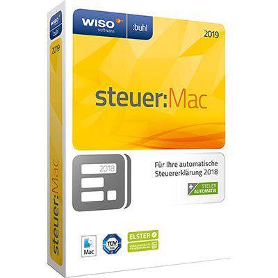 WISO steuer: Mac 2019 (Steuerjahr 2018) für 19,99€   auch für App & Web (statt 24€)