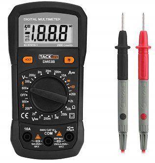 Tacklife DM03B Multimeter für 7,99€ (statt 15€)