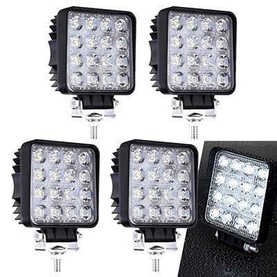 LED 48W Arbeitsscheinwerfer z.B. 4 Stück für 23,79€ (statt 34€)
