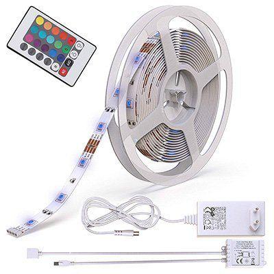 BKL1013   5m LED Streifen mit 150 LEDs & 4 Modi für 14,95€ (statt 17€)