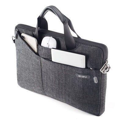 WIWU Laptoptasche für 13 o. 15 Laptops aus Nylongewebe ab 13,99€ (statt 28€)