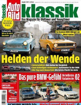 3 Monate Auto Bild klassik im Schnupperabo für 14,40€ inkl. 14,40€ V Scheck