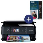 Epson Expression Premium XP-6000 Multifunktionsdrucker + Glossy Photo-Papier für 69,90€