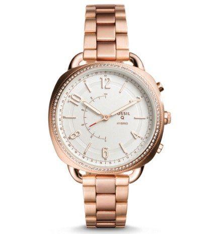 Fossil Q Accomplice Hybrid Damen Smartwatch in Roségold für 59,40€(statt 129€)