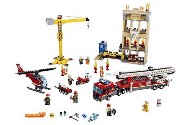 Lego City 60216 Feuerwehr in der Stadt für 80,17€(statt 90€)