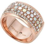Fossil Mother-of-Pearl Ring (16-17mm) für 20,50€ (statt 35€)