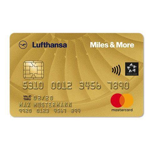 Miles & More Mastercard in Gold für 110€ jährlich + 15.000 Meilen gratis für z.B. Freiflüge