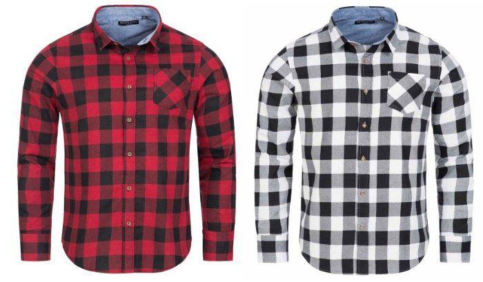 Brave Soul Flannel Herren Holzfäller Hemden für je 6,66€ + VSK